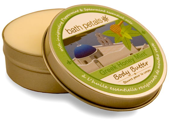 Greek Honey Mint Body Butter