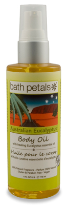Australian Eucalyptus Body Oil