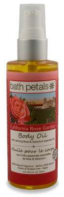 California Rose Garden Body Oil