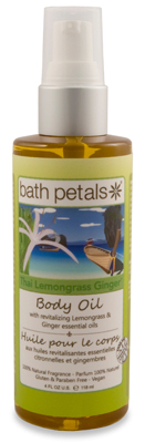 Thai Lemongrass Ginger Body Oil