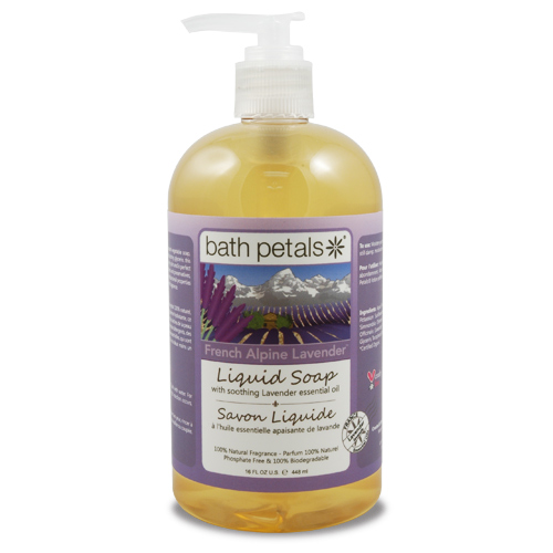 French Alpine Lavender Liquid Soap