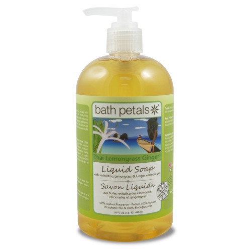 Thai Lemongrass Ginger Liquid Soap