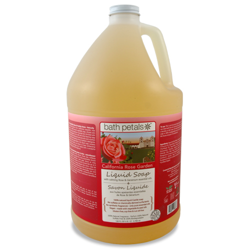 California Rose Garden Liquid Soap - 1Gal.
