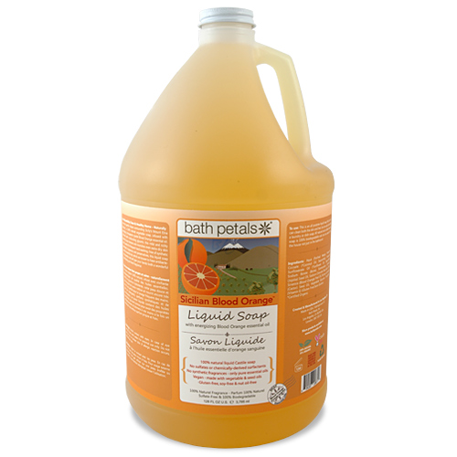 Sicilian Blood Orange Liquid Soap - 1Gal.