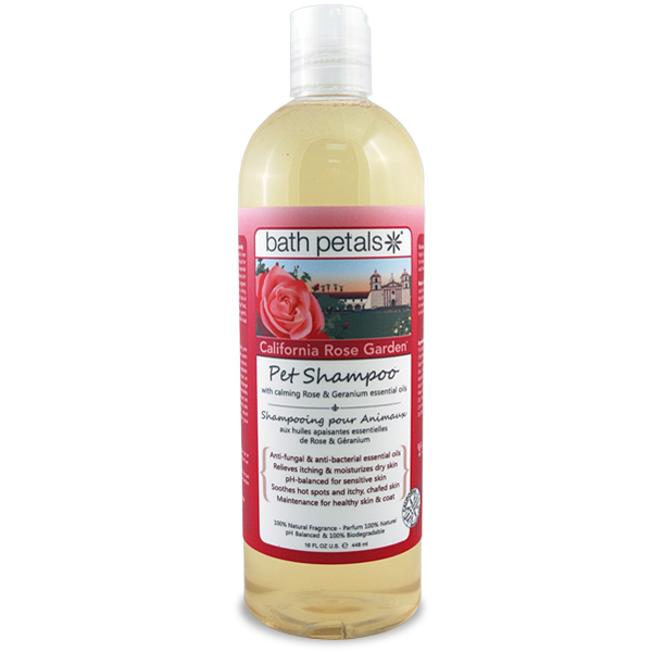 California Rose Garden Pet Shampoo