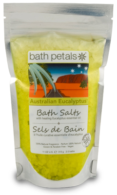 Australian Eucalyptus Bath Salts Bag