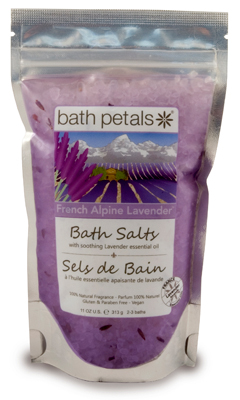French Alpine Lavender Bath Salts Bag