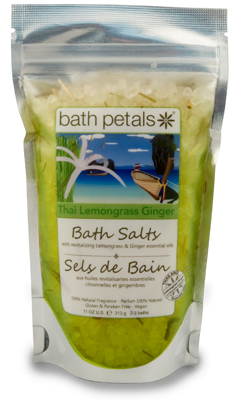 Thai Lemongrass Ginger Bath Salts Bag