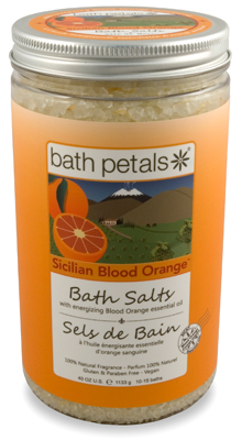 Sicilian Blood Orange Bath Salt Jar