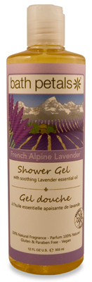 French Alpine Lavender Shower Gel