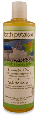 Greek Honey Mint Shower Gel