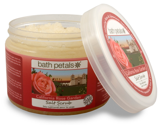 California Rose Garden Salt Scrub